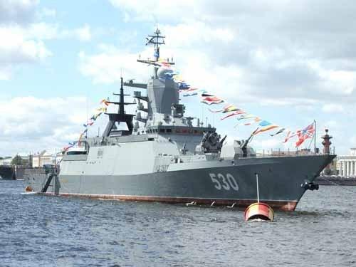 Открытка день Балтийского флота!