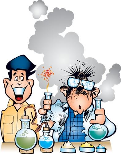 Открытка химия