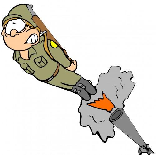 Открытка ракета