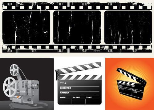 Открытка кинолента