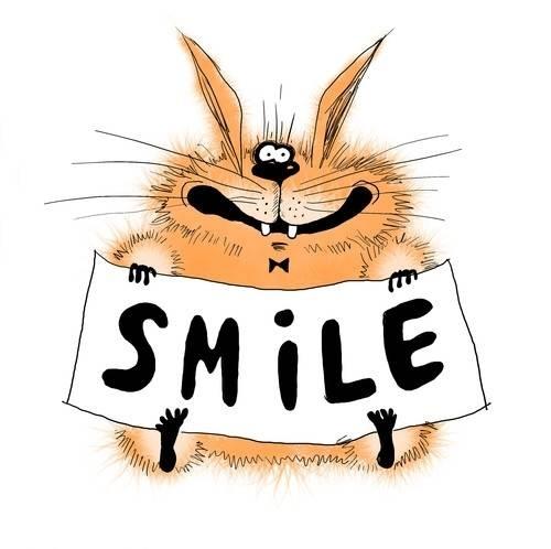 Открытка smile :-)