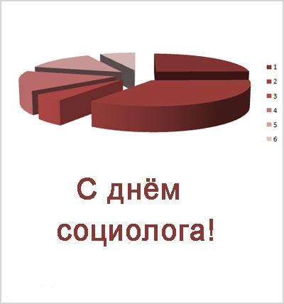 Открытка с днем социолога!