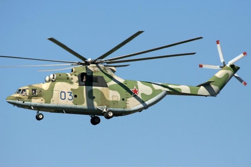 Открытка военный вертолет