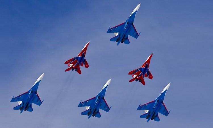 Открытка военная авиация