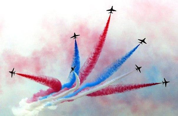 Открытка с днем авиации России!