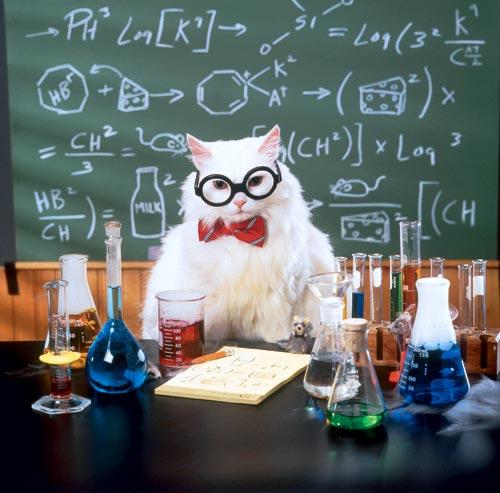 Открытка учителю химии