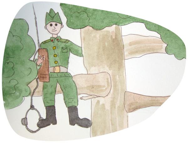Открытка 20 октября — день военного связиста
