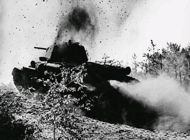 Открытка сражение под Прохоровкой
