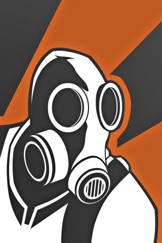 Открытка химическая защита