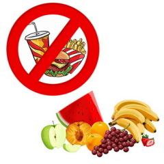 Открытка 2 июня — день здорового питания