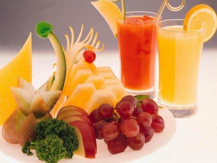 Открытка фрукты