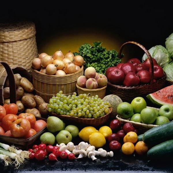 Открытка овощи