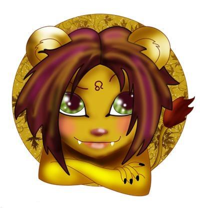Открытка мой львеночек