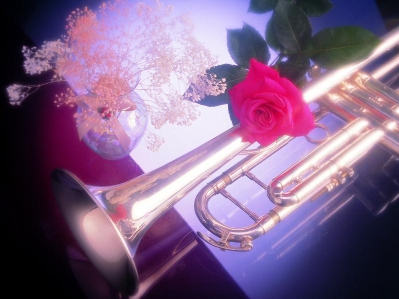 Открытка музыка