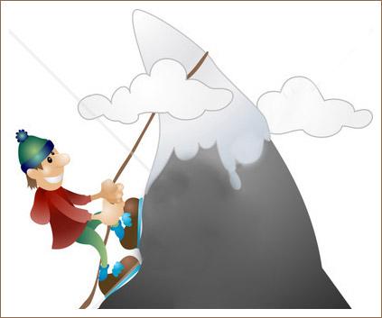 Открытка альпинизм