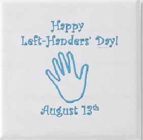 Открытка Happy Left-Handers' Day!