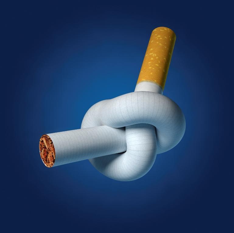 Открытка завязывай с курением