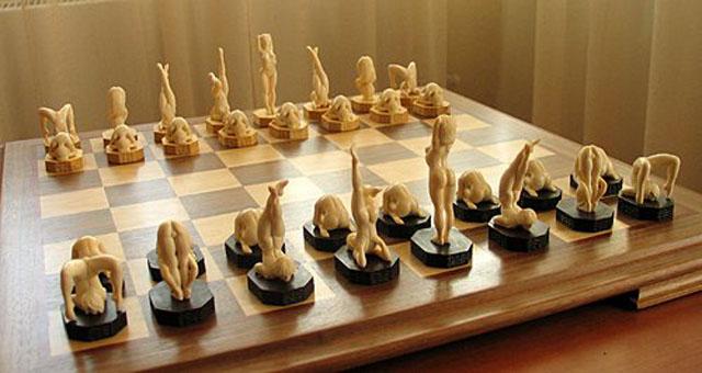 Открытка день шахмат!
