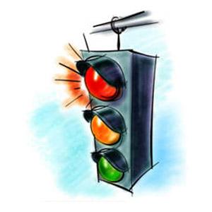 Открытка 5 августа — международный день светофора