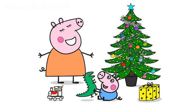 Свинка Пеппа поздравляет с Новым Годом!