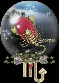 Открытка для скорпиона