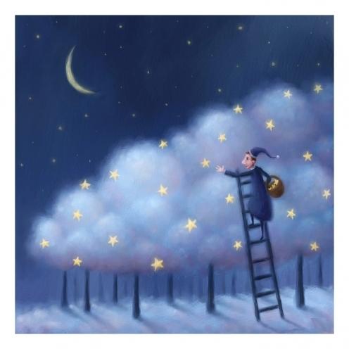 Романтическая открытка спокойной ночи!