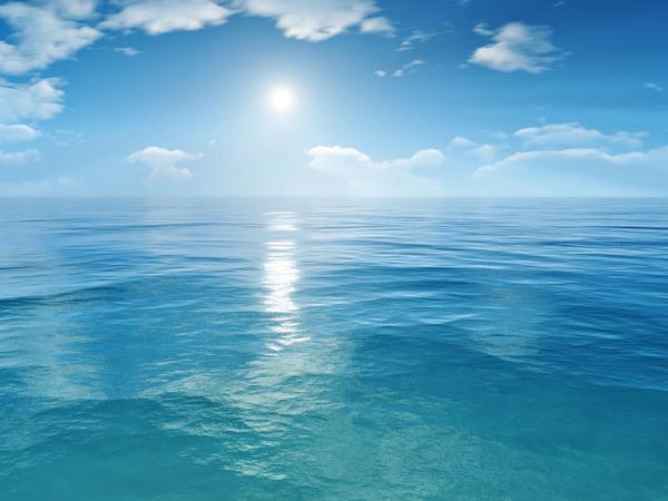Открытка с днем рождения, море!