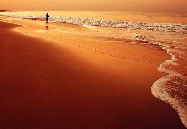 Открытка с моря