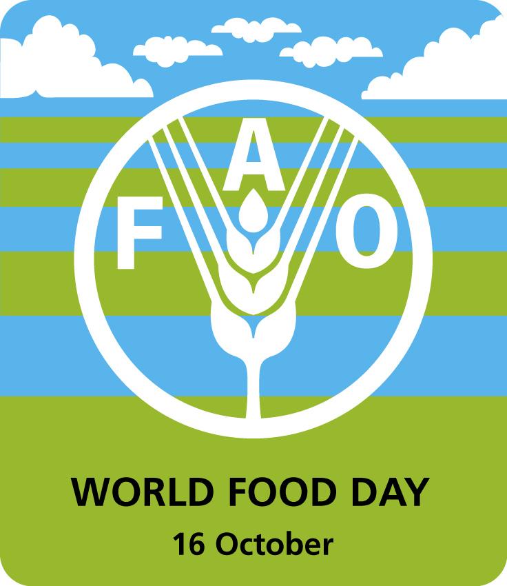 Открытка 16 октября — всемирный день продовольствия
