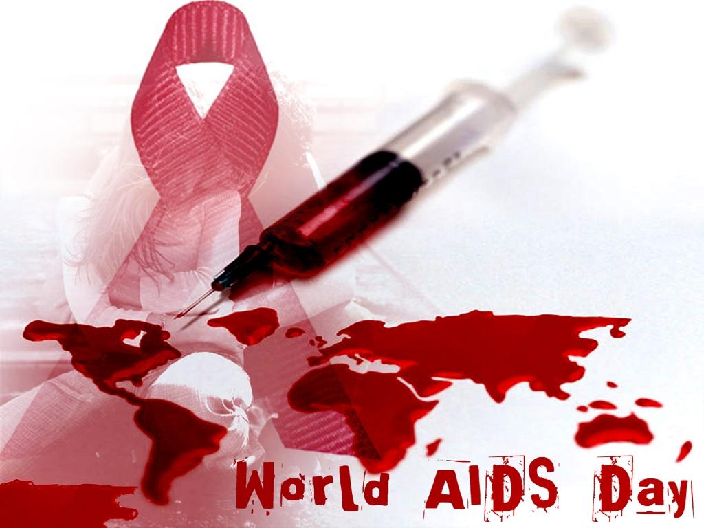 Открытка всемирный день борьбы со СПИДом!
