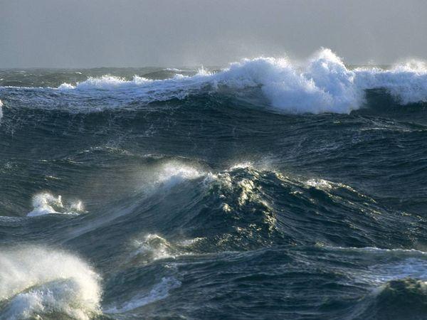 Открытка океан