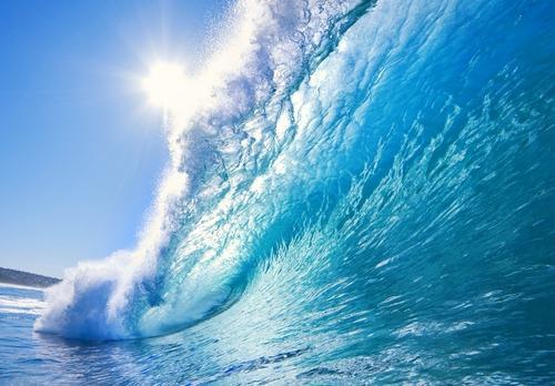 Открытка с днем океанов!