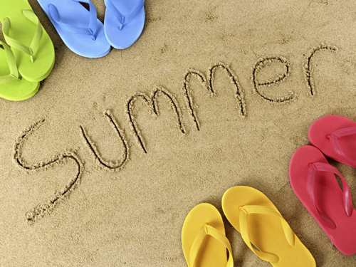 Открытка summer